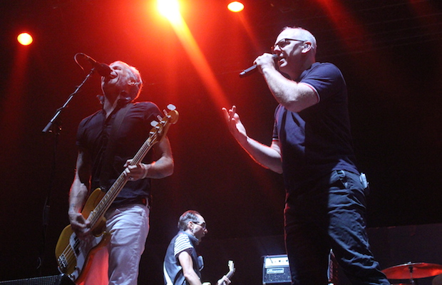 Bad Religion performing at It's Not Dead at San Manuel Amphitheater Festival Grounds Oct. 10. (Evan Solano/LOL-LA)