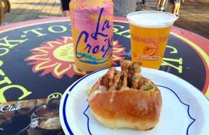 Canon Club's flavorful Oyster Po' Boy was a highlight at Off the Hook. (Yuri Shimoda/LOL-LA)