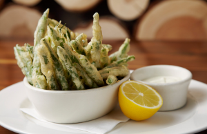 Tempura Fried Crispy Blue Lake Green Beans are a great start to a meal at Westside Tavern.