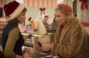 Carol, starring Rooney Mara and Cate Blanchett, was one of the most noteworthy offerings at AFI Fest. (Wilson Webb/The Weinstein Company)