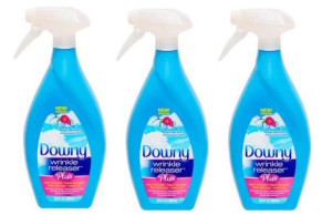 Let Downy Wrinkle Releaser Plus take care of all your fashion emergencies this Holiday season.