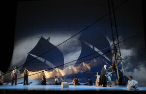 A scene from LA Opera's enthralling production of Moby-Dick (Craig T. Mathew/LA Opera)