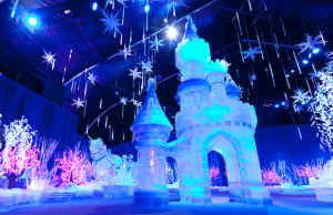 Experience a winter wonderland at the Queen Mary's CHILL.