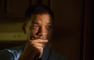 Will Smith stars as Dr. Bennet Omalu in Concussion (Columbia Pictures)