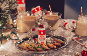 Stock up on Never Too Hungover to have on hand for all your holiday parties.