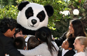 Panda Cares hosts the Leader in Me Holiday Carnival at Encinitas Elementary School Friday.