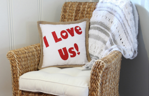 The pillow collection from Peppermint Twist has great gifts for friends who have just moved into a new place.