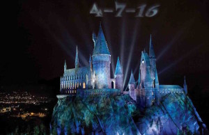 Potter fans, save April 7, 2016 for the opening of the Wizarding World of Harry Potter at Universal Studios Hollywood.