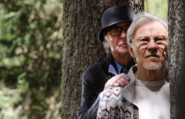 Michael Caine as Fred and Harvey Keitel as Mick in Youth (Gianni Fiorito/Fox Searchlight)