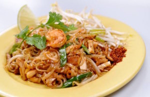 Enjoy traditional dishes like Pad Thai at Natalee Thai Cuisine.