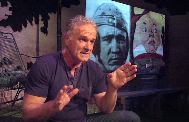 """John Posey in """"Father, Son & Holy Coach"""" (Ed Krieger)"""