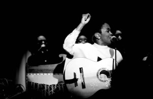 Ms. Lauryn Hill graces the Belasco Theater stage this Wednesday.