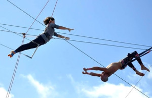 Gift your Valentine a one-of-a-kind adventure, like a flying trapeze class, from Gilt City L.A.