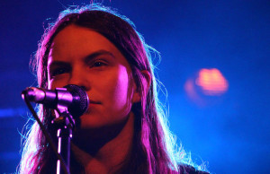 Eliot Sumner delivered a powerhouse performance at the Echo March 8. (Evan Solano/LOL-LA)