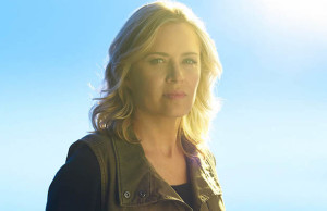 "Kim Dickens stars as Madison Clark in ""Fear the Walking Dead,"" which returns to AMC April 10."