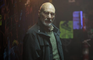 Patrick Stewart in Jeremy Saulnier's Green Room (Scott Patrick Green/A24)