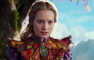 Mia Wasikowska in Alice Through the Looking Glass (Walt Disney Pictures)