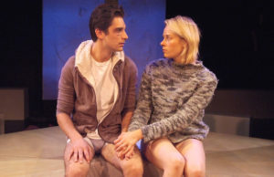 "Jeff Ward and Sara Rae Foster in ""Gruesome Playground Injuries"" (Ed Krieger)"