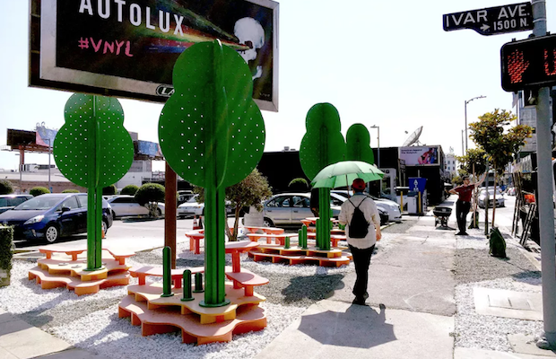 Visit Hollywood Pop! at the corner of Selma and Ivar from May 20 through 2016.