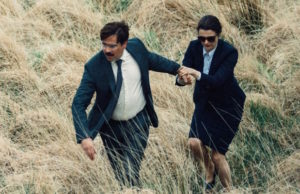 Colin Farrell and Rachel Weisz in The Lobster (A24 Films)