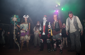 Ghoulish spirits from ship and sea await you at the Queen Mary's Dark Harbor.