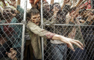 """The Walking Dead"" invasion of Universal Studios Hollywood begins July 4. (David Sprague)"