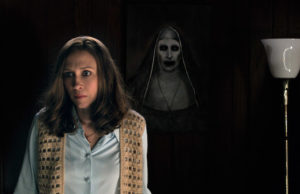 Vera Farming as Lorraine Warren in The Conjuring 2 (Warner Bros. Pictures)