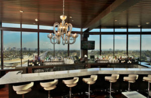 Take in the stunning views at Hotel Angeleno's West Restaurant over some great cocktails.
