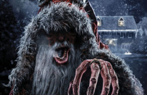 Krampus terrorizes Halloween Horror Nights at Universal Studios starting Sept. 16.