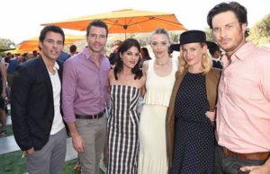 James Marsden, Scott Foley, Selma Blair, Jaime King, January Jones and Oliver Hudson at Veuve Clicquot Polo Classic