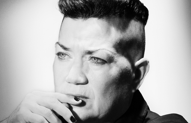 Lea DeLaria performed at the final concert of Grand Performances' 2016 season.