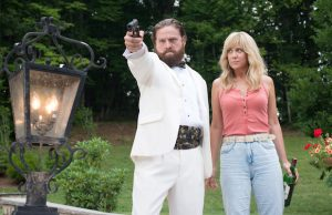 Zach Galifianakis and Kristen Wiig star in Masterminds, directed by Jared Hess. (Glen Wilson)