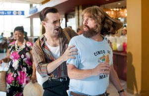 Jason Sudeikis and Zach Galifianakis in Masterminds (Glen Wilson)