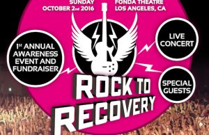 Catch some great performances while supporting Rock to Recovery Oct. 2.
