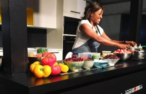 Chef Nyesha Arrington of Leona at L.A. Times' the Taste (Instagram)