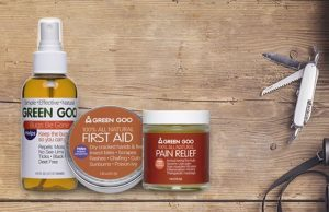 Green Goo has a salve for everything that the outdoors-people in your life might encounter.