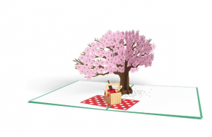 Send your lover a Springtime Picnic in a 3D card from Lovepop.