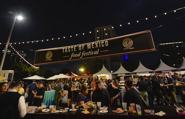 Dine on some of the best Mexican dishes in the city at the Taste of Mexico festival.