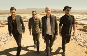 The Fray took the audience back to days past at the Wiltern. (Frank Ochenfels)