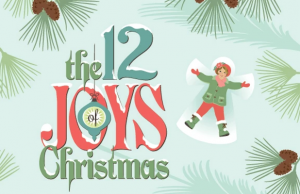 Explore The 12 Joys of Christmas with some loved ones this season.
