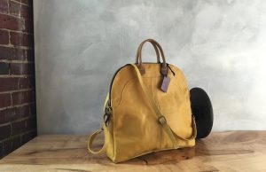 The Fold Over is C.A.S. Handmade's signature bag.