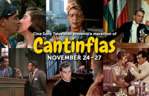 Tune into the Cantinflas Movie Marathon this Thanksgiving weekend on Cine Sony Television.