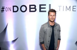 Actor Glen Powell attends the L.A. launch of On Dobel Time. (Matt Winkelmeyer/Getty Images for Proximo Spirits)