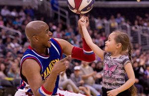 Be dazzled by the Harlem Globetrotters when they visit SoCal in February.