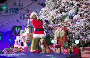 """Get into the holiday season by visiting the Grinch and Max at Universal Studios Hollywood's """"Grinchmas."""""""