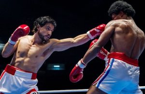 Hands of Stone on DVD or Blu-ray is a knockout holiday gift.