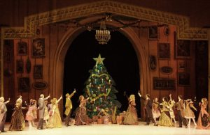 The Party scene from the Long Beach Ballet's The Nutcracker (Katie Ging)
