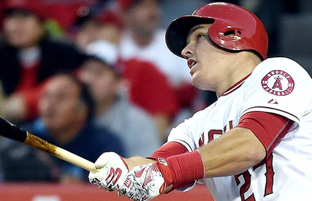 Center fielder for the Angels and AL MVP, Mike Trout