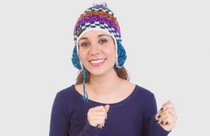 The Happy Chullo is one of the many beanies offered by beyondBeanie.