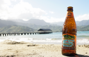 Experience Hawaii in a glass with Kona Brewing Company's Hanalei Island IPA.